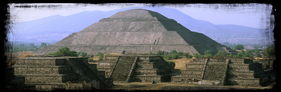 mayan temple pyramid of the sun teotihuacan hard trance