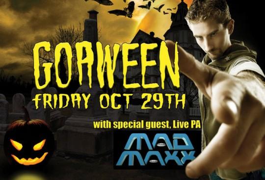 Organix Goaween with Mad Maxx - Halloween Psytrance