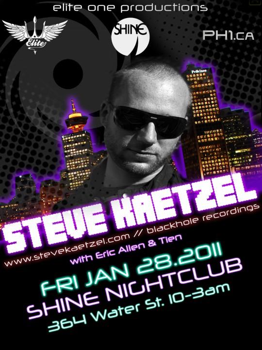 Steve Kaetzel Free VIP Tickets
