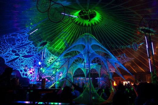 Spirit Base Psychedelic Trance Party 2011