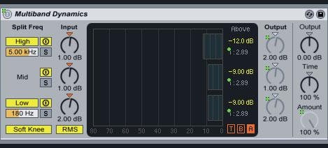 Mastering a DJ mix using Ableton