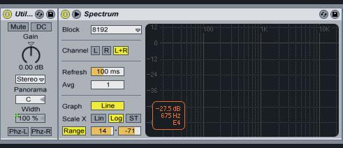 DJ mix mastering in Ableton